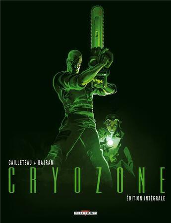 Couverture du livre « Cryozone ; intégrale t.1 à t.2 » de Cailleteau et Bajram aux éditions Delcourt