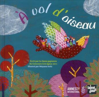 Couverture du livre « à vol d'oiseau » de Mayana Itoiz aux éditions Talents Hauts