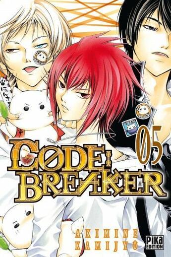 Couverture du livre « Code breaker t.5 » de Akimine Kamijyo aux éditions Pika