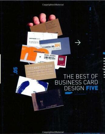 Couverture du livre « The best of business card design 5 (paperback) » de Cullen aux éditions Rockport