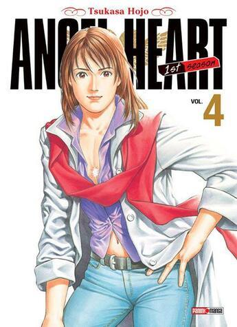 Couverture du livre « Angel heart - saison 1 t.4 » de Tsukasa Hojo aux éditions Panini