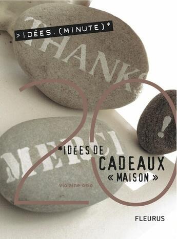 Couverture du livre « 20 idées de cadeaux maison » de Violaine Oslo aux éditions Fleurus