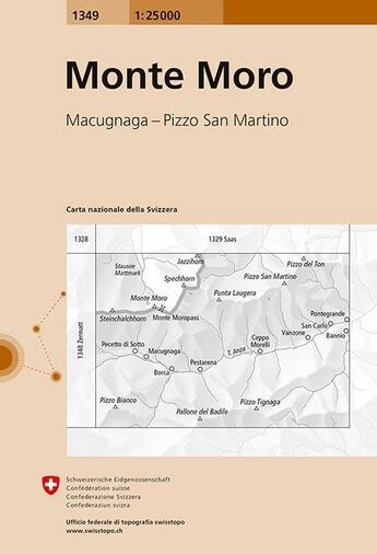 Couverture du livre « **Monte Moro » de  aux éditions Ofts