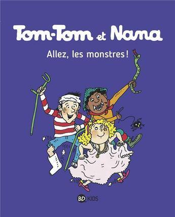 Couverture du livre « Allez, Les Monstres ! Ttnn T17 Ne » de  aux éditions Bayard Jeunesse