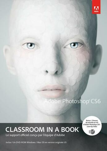 Couverture du livre « Adobe Photoshop CS6 » de Collectif aux éditions Pearson