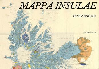 Couverture du livre « Mappa insulae » de Robert Louis Stevenson aux éditions Parentheses