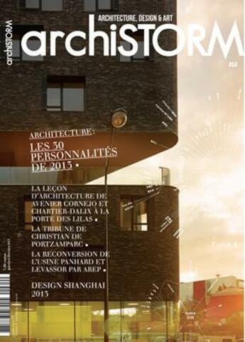 Couverture du livre « Archistorm les 30 person. 2014 - arci64 » de Collectif aux éditions Archistorm