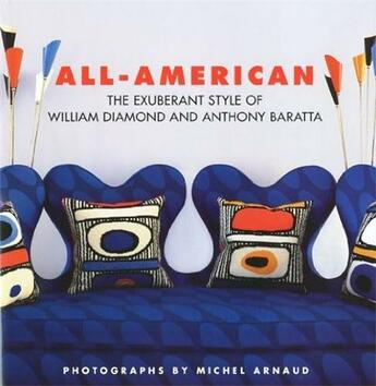 Couverture du livre « All american the exuberant style of William Diamon and Anthony Baratta ; anglais » de Shaw Dan aux éditions Antique Collector's Club