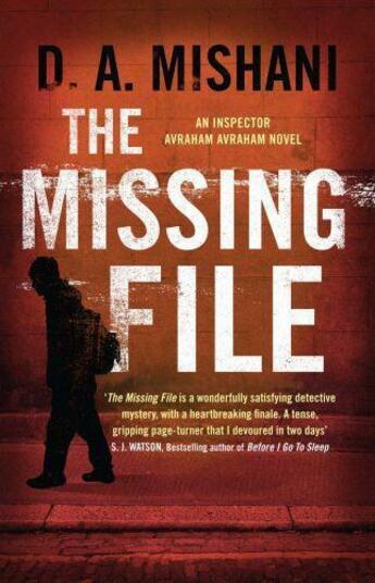 Couverture du livre « The Missing File » de Mishani D A aux éditions Quercus Publishing Digital