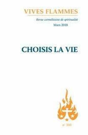 Couverture du livre « Choisis la vie » de Revue Vives Fla aux éditions Carmel