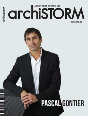 Couverture du livre « Archistorm hs pascal gontier - arcs9 » de Collectif aux éditions Archistorm