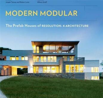 Couverture du livre « Modern modular » de Tanney aux éditions Princeton Architectural