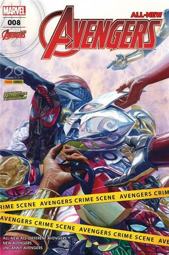 Couverture du livre « All-new Avengers N.8 » de All-New Avengers aux éditions Panini Comics Fascicules