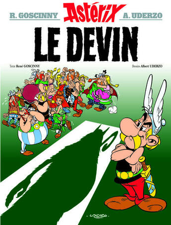 Couverture du livre « Astérix t.19 ; le devin » de Rene Goscinny et Albert Uderzo aux éditions Hachette
