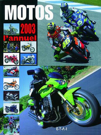 Couverture du livre « Annuel Moto » de Collectif aux éditions Etai