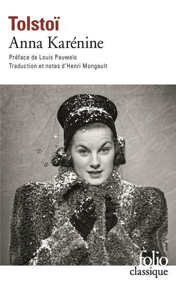 Couverture du livre « Anna Karenine » de Leon Tolstoi aux éditions Gallimard