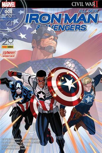 Couverture du livre « All-new Iron Man & Avengers N.8 » de All-New Iron Man & Avengers aux éditions Panini Comics Fascicules