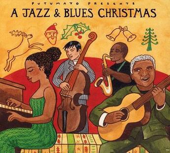 Couverture du livre « A jazz et blues christmas » de Collectif aux éditions Dg-musique