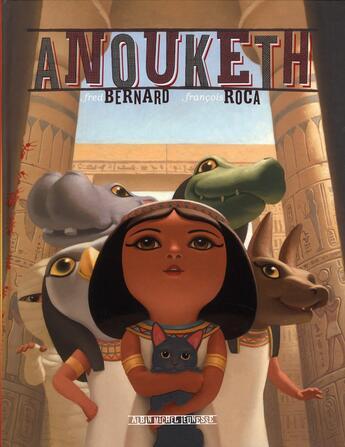 Couverture du livre « Anouketh » de Fred Bernard et Francois Roca aux éditions Albin Michel Jeunesse