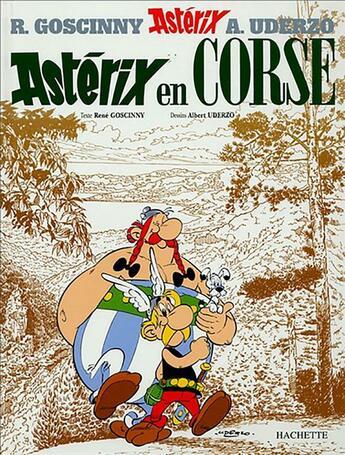 Couverture du livre « Astérix t.20 ; Astérix en Corse » de Rene Goscinny et Albert Uderzo aux éditions Hachette