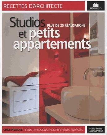 Couverture du livre « Aménager un studio ou un petit appartement » de Collectif aux éditions Massin