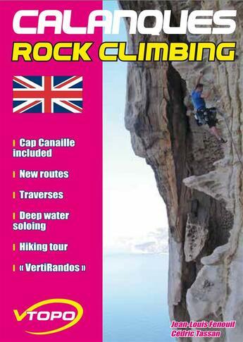 Couverture du livre « Calanques climbing » de Jean-Louis Fenouil/C aux éditions Vtopo