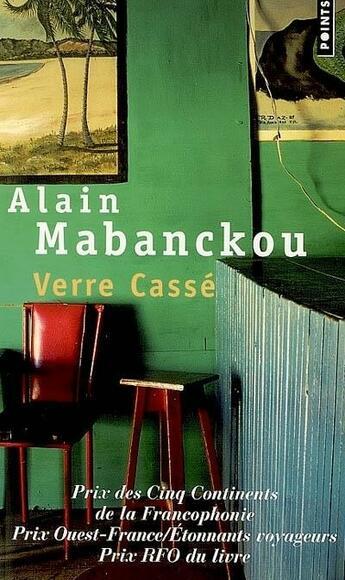 Couverture du livre « Verre cassé » de Alain Mabanckou aux éditions Points