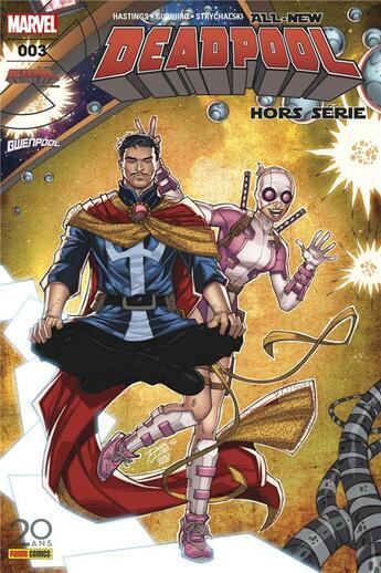 Couverture du livre « All-new Deadpool HORS-SERIE N.3 » de All-New Deadpool aux éditions Panini Comics Fascicules