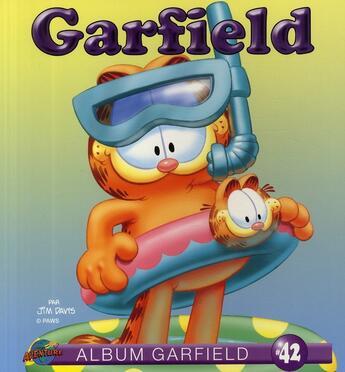 Couverture du livre « ALBUM GARFIELD T.42 » de Jim Davis aux éditions Presses Aventure