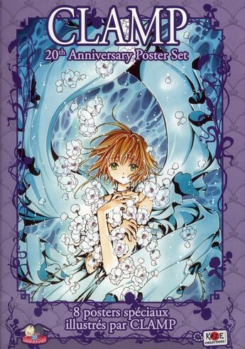 Couverture du livre « Set de lithographie Clamp » de Clamp aux éditions Asuka
