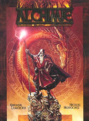 Couverture du livre « Alchimie » de Nicolas Hervoches aux éditions Ak