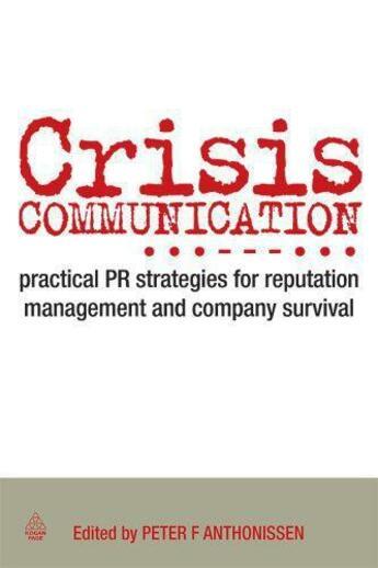 Couverture du livre « Crisis Communication » de  aux éditions Kogan Page Digital