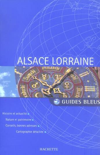 Couverture du livre « Alsace-Lorraine » de Collectif aux éditions Hachette Tourisme