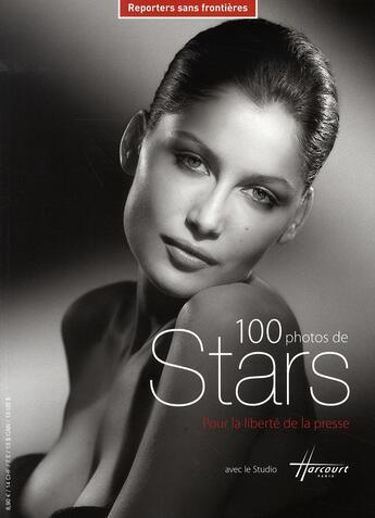 Couverture du livre « 100 photos de stars pour la liberté de la presse » de Collectif aux éditions Reporters Sans Frontieres
