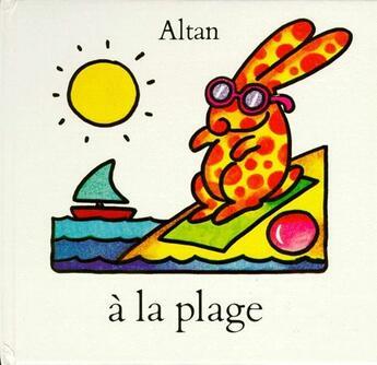 Couverture du livre « À la plage » de Altan aux éditions Ecole Des Loisirs