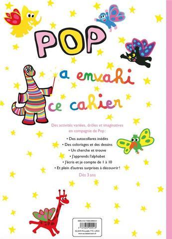 Couverture du livre « Cahier d'activites pop » de Sanders Alex / Bisin aux éditions Ecole Des Loisirs