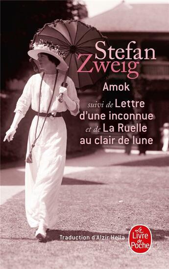 Couverture du livre « Amok ; lettre d'une inconnue » de Stefan Zweig aux éditions Lgf