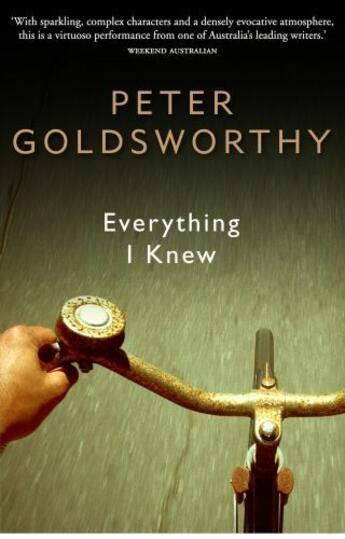 Couverture du livre « Everything I Knew » de Goldsworthy Peter aux éditions Penguin Books Ltd Digital