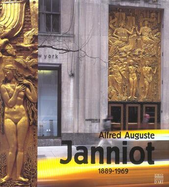 Couverture du livre « Alfred Auguste Janniot 1889-1969 » de Collectif aux éditions Somogy