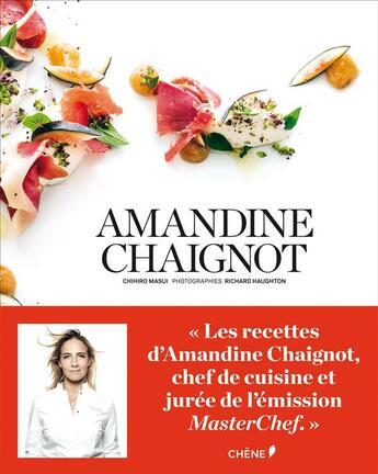 Couverture du livre « Amandine Chaignot » de Chihiro Masui et Haughton et Amandine Chaignot aux éditions Chene