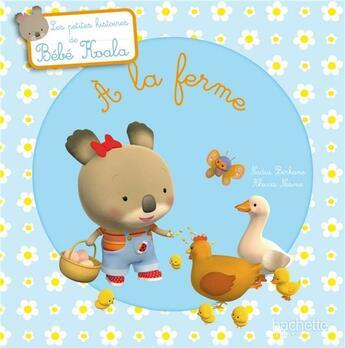 Couverture du livre « à la ferme » de Nadia Berkane et Alexis Nesme aux éditions Hachette Jeunesse