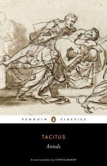 Couverture du livre « Annals » de Tacitus aux éditions Penguin Books Ltd Digital