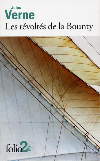 Couverture du livre « Les révoltés de la Bounty » de Jules Verne aux éditions Gallimard