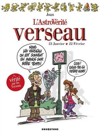 Couverture du livre « Astroverité verseau » de Joan aux éditions Glenat