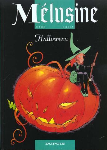 Couverture du livre « Mélusine t.8 ; Halloween » de Francois Gilson et Clarke aux éditions Dupuis