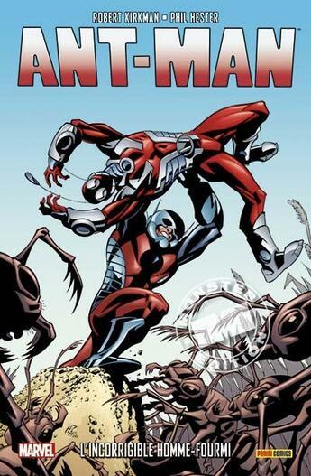 Couverture du livre « Ant-Man ; l'incorrigible homme-fourmi » de Robert Kirkman et Cory Walker et Phil Hester et Khary Randolph aux éditions Panini