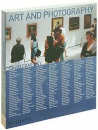 Couverture du livre « Art and photography » de David Campany aux éditions Phaidon