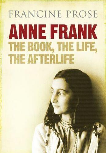 Couverture du livre « Anne Frank » de Francine Prose aux éditions Atlantic Books Digital