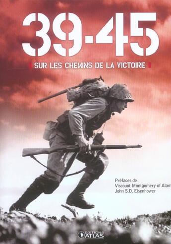 Couverture du livre « 39-45 » de  aux éditions Atlas