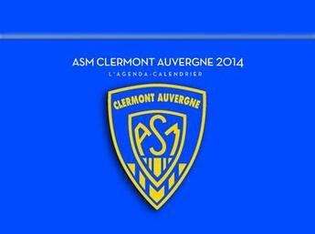 Couverture du livre « Agenda calendrier Clermont 2014 » de Collectif aux éditions Hugo